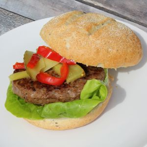 Low fat hamburgers (1050gr = 7 x 150gr)