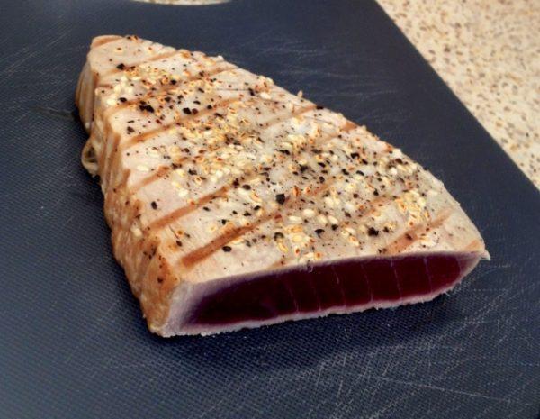 Tonijnsteak (rauw) (1kg, 900 gr. netto, 5 stuks)