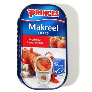 Sample Princes makreel in tomatensaus (125gr)
