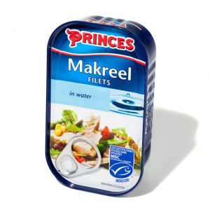Sample Princes makreel in water (125gr)