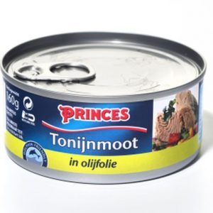 Sample Princes tonijnmoot in olijfolie (160gr)