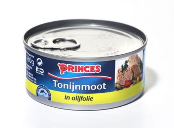 Sample Princes tonijnmoot in olijfolie (160gr)