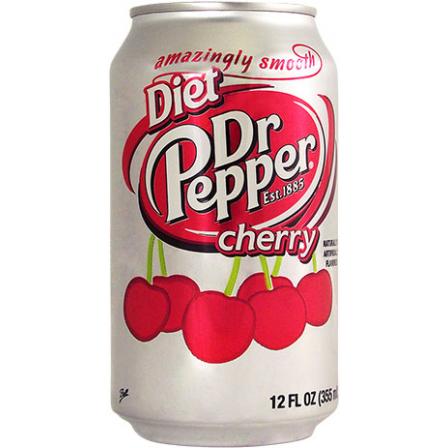 Dr Pepper Diet Cherry (355ml)-0