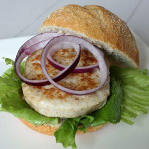 Sample Kipfiletburger Original (150gr)(rauw)(100% kipfilet)-0
