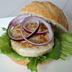 Kipfiletburger Original 1050gr (7 x 150gr)(rauw)(100% kipfilet)-2059