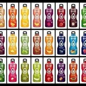 Proefpakket Bolero alle 58 smaken (goed voor totaal 116 liter)-0