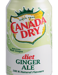 Canada Dry Diet Ginger Ale (355ml)-0