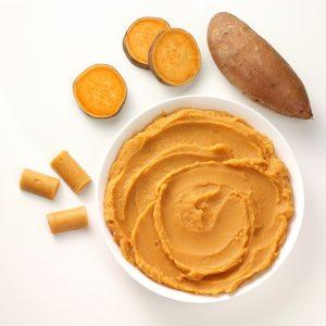 Zoete Aardappel puree Porties (kant-en-klaar) (1kg)-0