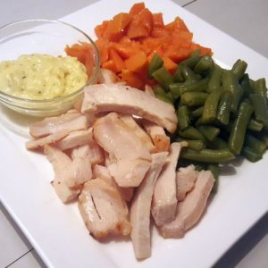 High Protein Meal Kip Kerrie Groot (695gr)-0