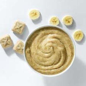 Bananen puree Porties (kant-en-klaar) (1kg)-2204