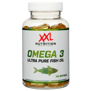 Omega 3 Ultra Pure Fish Oil, 100 capsules -0