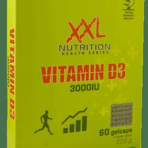 Vitamine D3 - 3000IU - 60 gelcaps-0