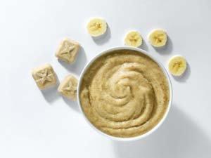 Bananen puree Porties (kant-en-klaar) (1kg)-0