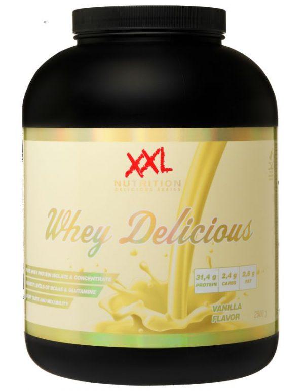 Whey Delicious, 2500 gram (plus gratis shakebeker)-0