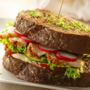 Roasted sandwich slices (kipfilet naturel) (2.5KG IQF)-0