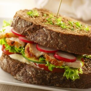 Roasted sandwich slices (kipfilet naturel) (2.5KG IQF)-2123