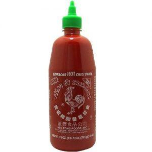 Sriracha hot chili (extra groot: 740ml)-0