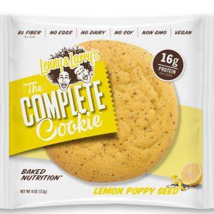 Protein Cookie Lenny & Larry's - The Lemon Poppy (16gr eiwit, 8gr vezels)-0