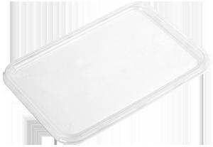 Doos Magnetron Tweevak Mealprep bakjes met deksel (500 stuks) -2131