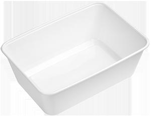 Doos Magnetron Enkelvak Mealprep bakjes met deksel (500 stuks) -0