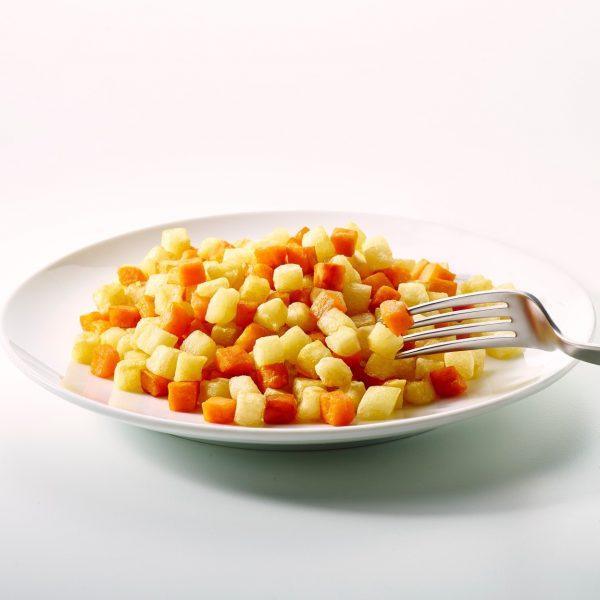 Duo - Zoete aardappel & Aardappel (2kg) (kant-en-klaar)-0
