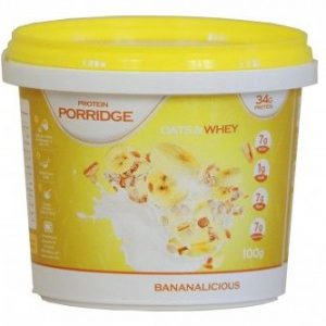 Protein Porridge Banaan (34gr eiwIt, havermout) -0
