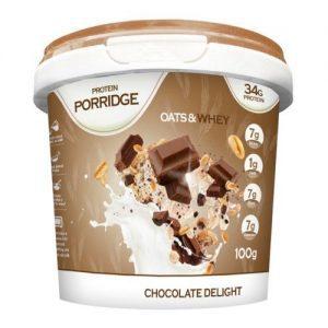 Protein Porridge Chocolade (34gr eiwIt, havermout) -0