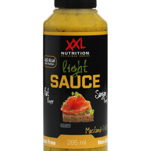 Light Saus Mustard dille - XXL Nutrition-0