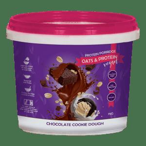 Protein Porridge Chocolate Cookie Dough (Vegan) (34gr eiwIt, havermout) -0