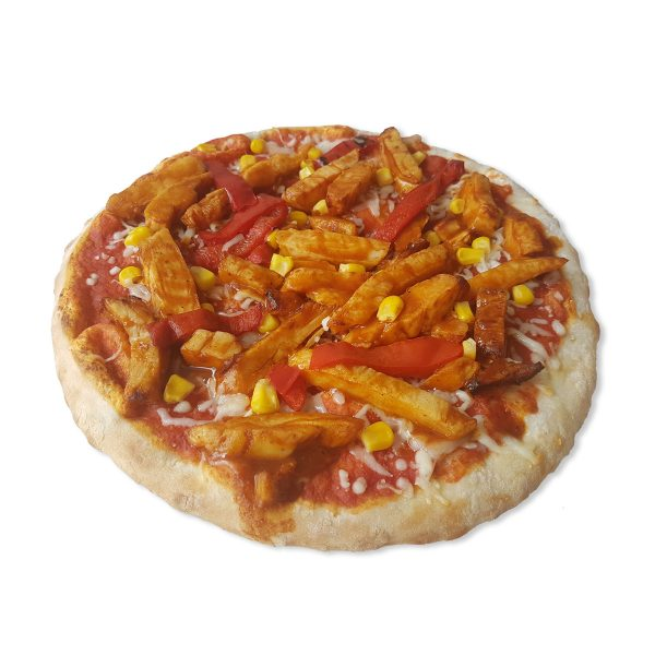 ***VERNIEUWD*** High Protein Pizza - BBQ Chicken (45,5 gram eiwit)-0