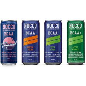 Nocco BCAA Drink (330ml met en zonder cafeïne) (4 smaken)-0