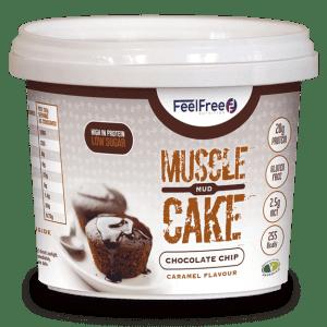 Protein Porridge - Mud Cake Chocolate Chip Caramel-0