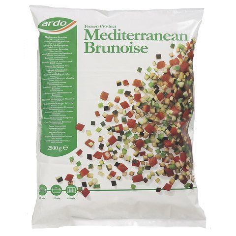 Brunoise Mediterrane (pastagroente) kant-en-klaar (2,5kg)-3236