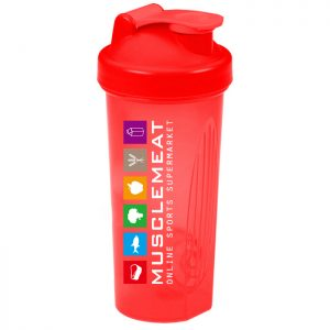 MuscleMeat Shaker Rood 700ml-0
