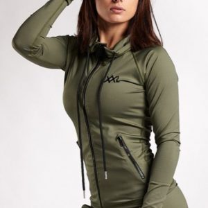 SLEEK JACKET XXL NUTRITION - ARMY GREEN-0
